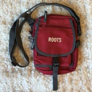 Roots nylon crossbody bag